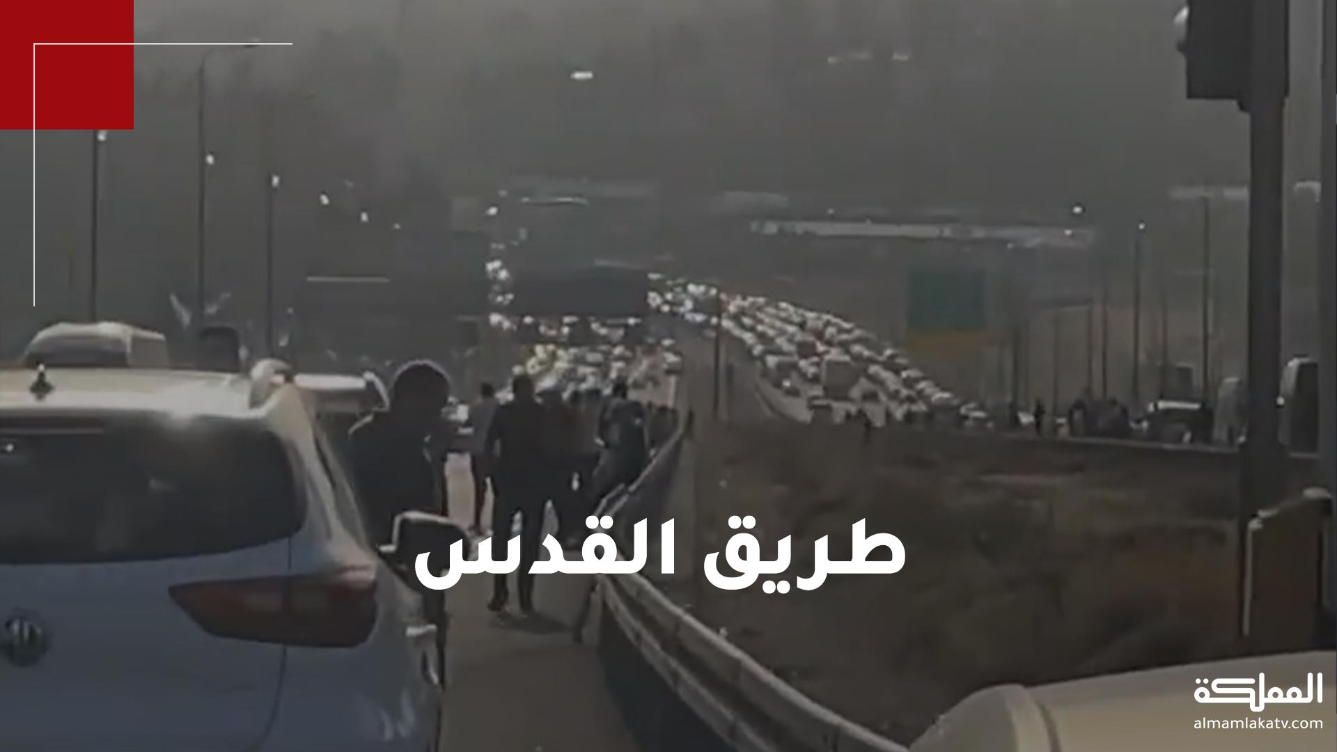 آلاف الفلسطينيين من أراضي الـ48 ومن مختلف مناطق الضفة الغربية يتوجهون للمسجد الأقصى سيرا على الأقدام